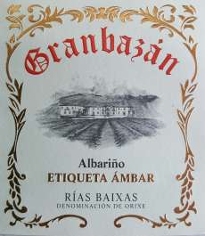Vin blanc Granbazan Etiqueta Ambar