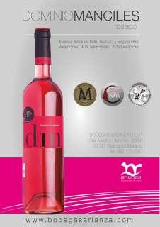 Vin rosé Dominio de Manciles, Rosado