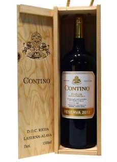 Vin rouge Contino  en caja de madera (Magnum)