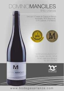 Vin rouge Dominio de Manciles, Crianza
