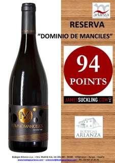 Vin rouge Dominio de Manciles, Reserva