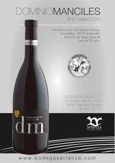 Vin rouge Dominio de Manciles, Selección Especial