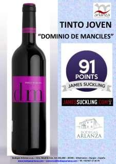 Vin rouge Dominio de Manciles, Tinto Joven