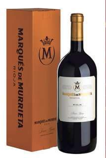 Vin rouge Marqués de Murrieta  (Magnum)