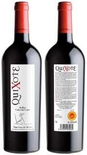 Vin rouge Quixote MBCF 2009