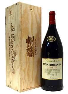 Vin rouge Viña Ardanza  en caja de madera (Magnum)