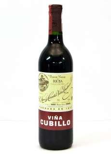 Vin rouge Viña Cubillo